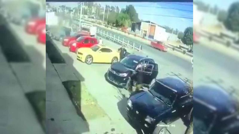 VIDEO: Sujetos armados levantan a agentes de la Guardia Nacional